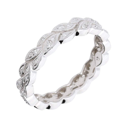Ungar & Ungar Ring Ungar 18ct white gold diamond tattoo ring