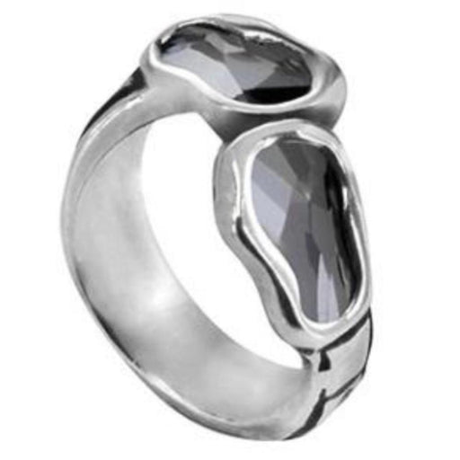 Uno De 50 Ring Uno de 50 Silver grey swarovski deep eyes ring