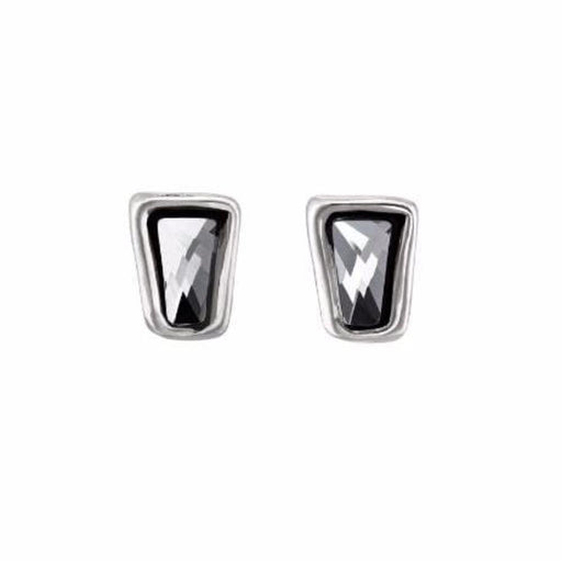 Uno De 50 Earrings Uno de 50 Silver grey swarovski ladymatic stud earrings