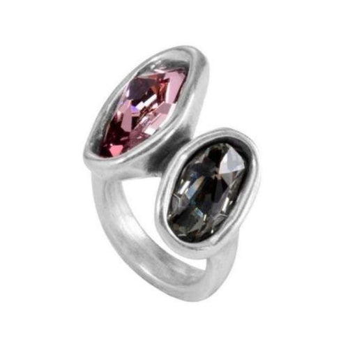 Uno De 50 Ring Uno de 50 Silver pink green swarovski yes yes ring