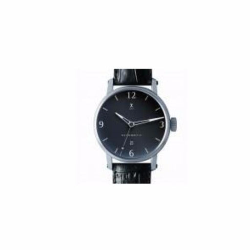 Xen Watch Xen automatic black leather watch  XM0003