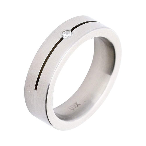 Xen Ring Xen Steel & Diamond Ring