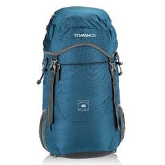 TOMSHOO 40L Outdoor Backpack Ultra Lightweight Water-resistant Nylon Outdoor Backpack Travel Trekking Foldable Bag