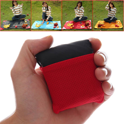 3 Sizes 110*70cm/150*110cm/180*150cm Outdoor Multifunction Portable Foldable Picnic Camping Mat Pocket Beach Blanket Pad