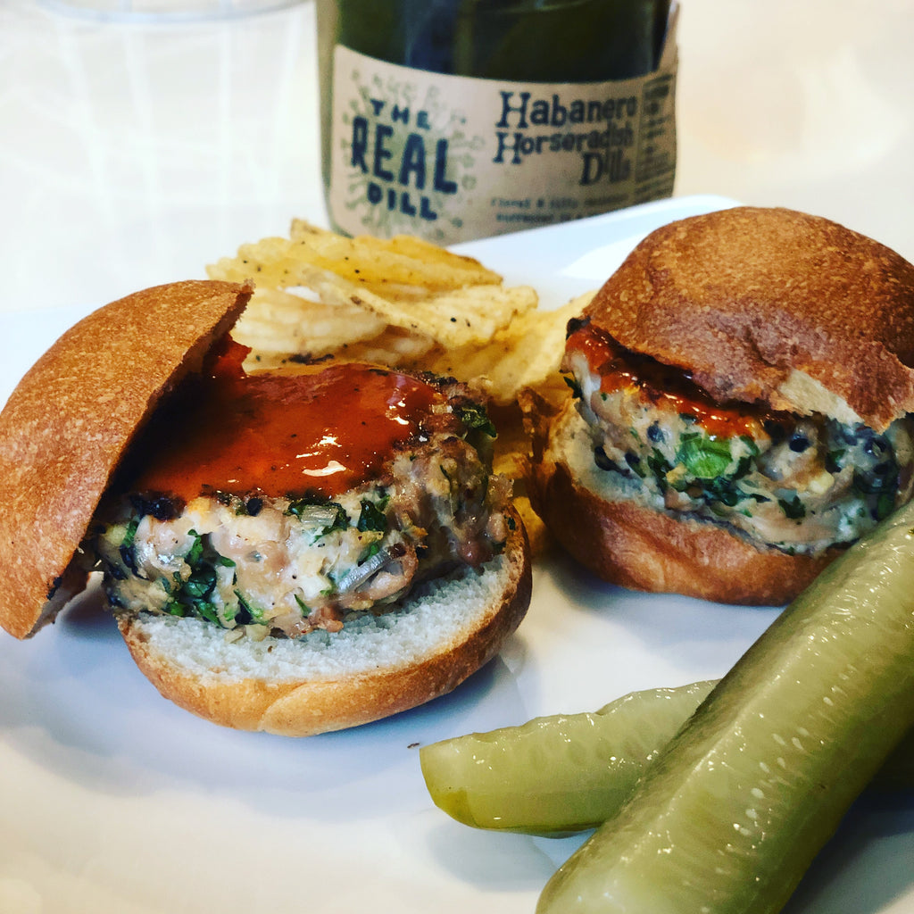 Thai Chicken Sliders
