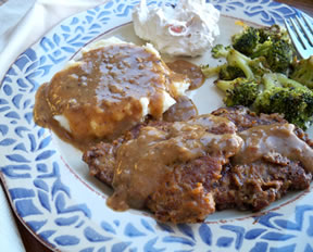 Round Steak (Cube Steak) and Gravy Recipe