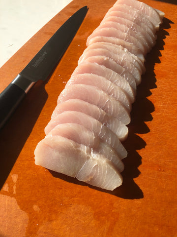 Sliced Mahi Mahi Filets