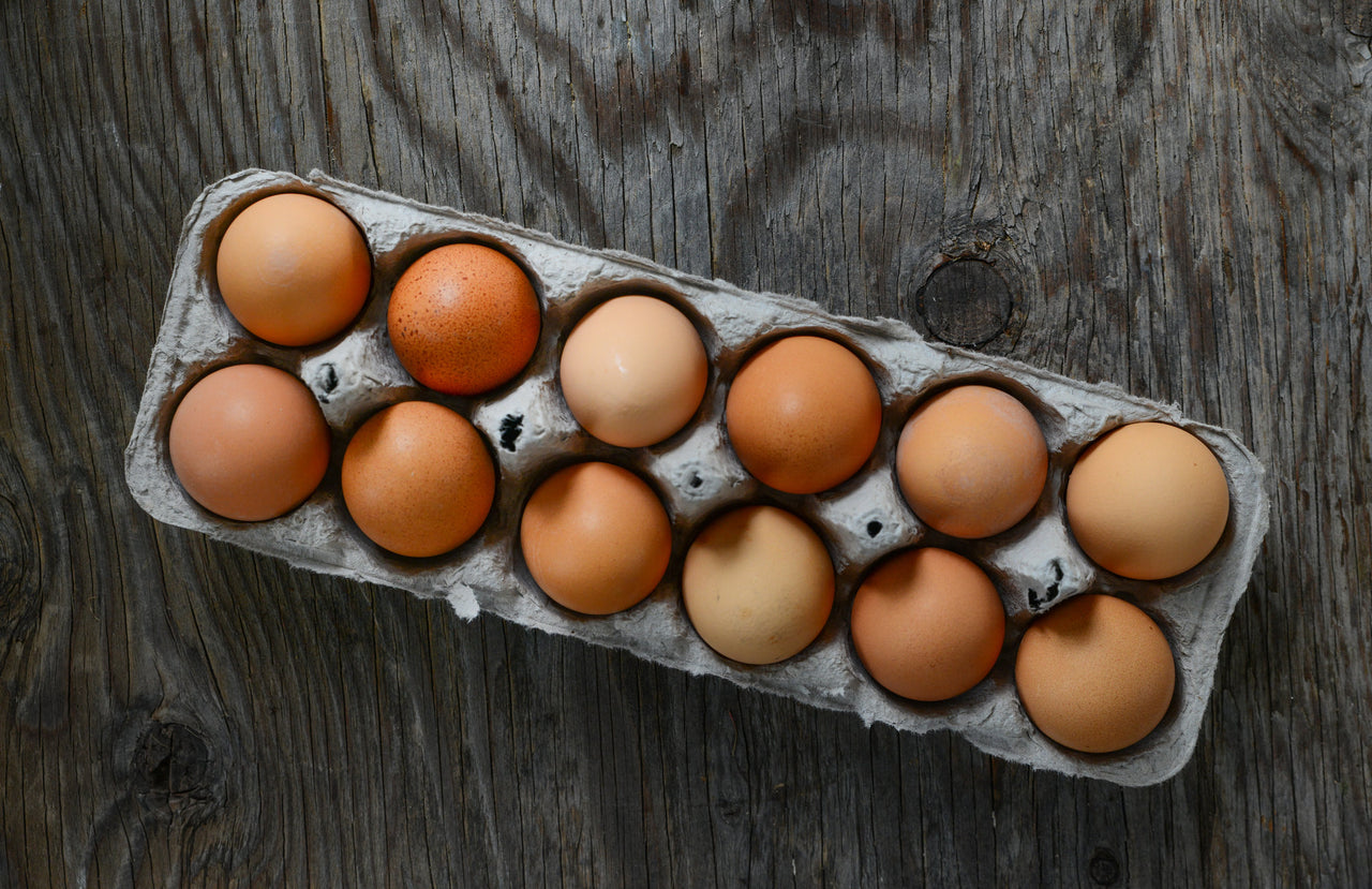Add On:  One dozen fresh pasture-raised eggs, Monthly delivery (Every 4 Weeks)