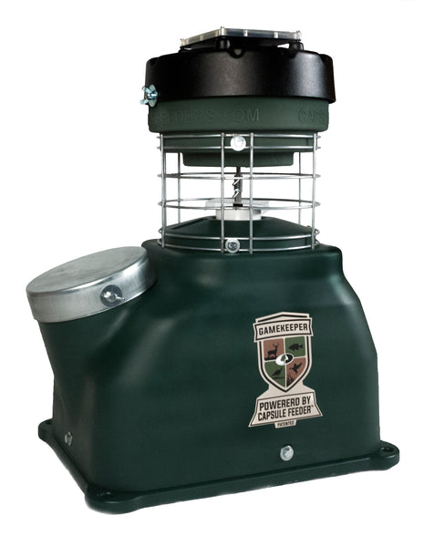 Mossy Oak Gamekeeper 100# Capsule Feeder