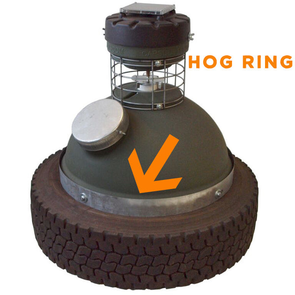 Hog Ring for capsule feeder 250#/450#