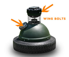 Capsule Feeder Wing Bolt