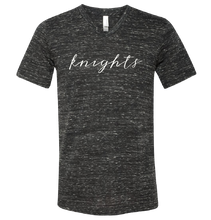 KNIGHTS Script V-Neck T-Shirt