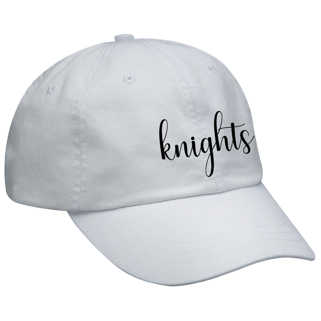 Pigment-Dyed Knights Script Cap