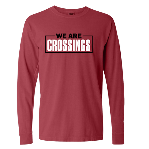 We Are Crossings Boxed Cotton Long-Sleeve