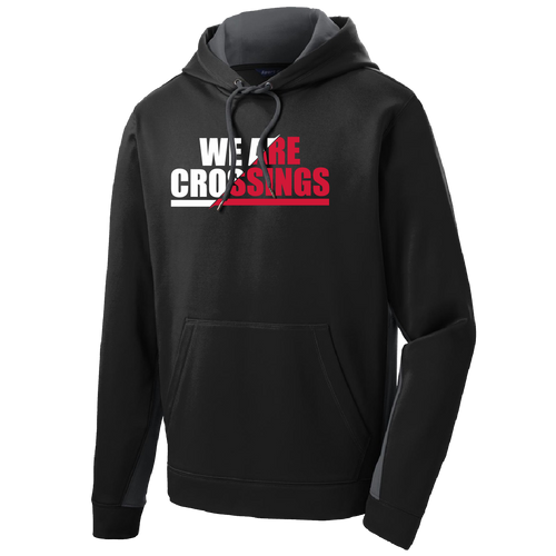 We Are Crossings Dri-Fit Hooded Sweatshirt