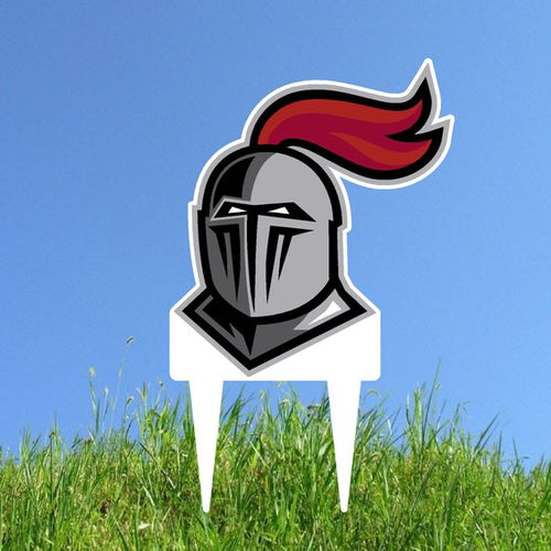 Knight Helmet Garden Guard