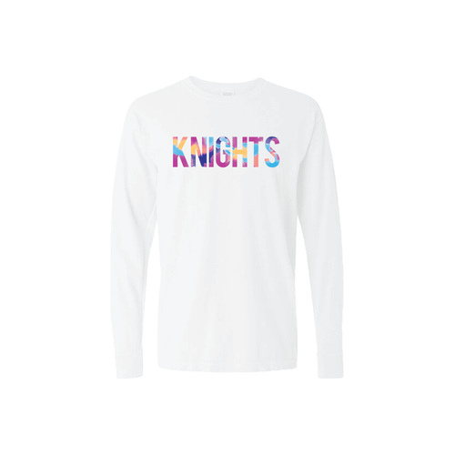 Marble KNIGHTS Cotton Long Sleeve T-Shrit