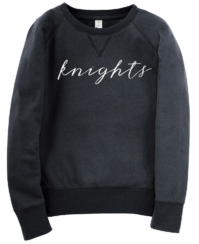 KNIGHTS Script Long-Sleeve Sweater