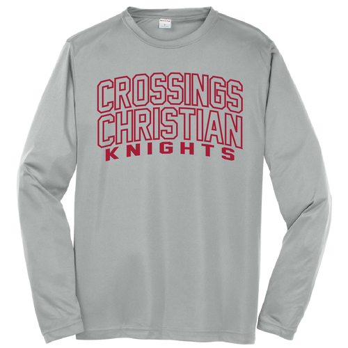 Crossings Christian Logo Dri-Fit Long Sleeve