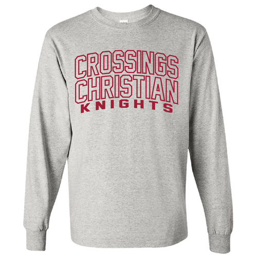 Crossings Christian Logo Cotton Long Sleeve