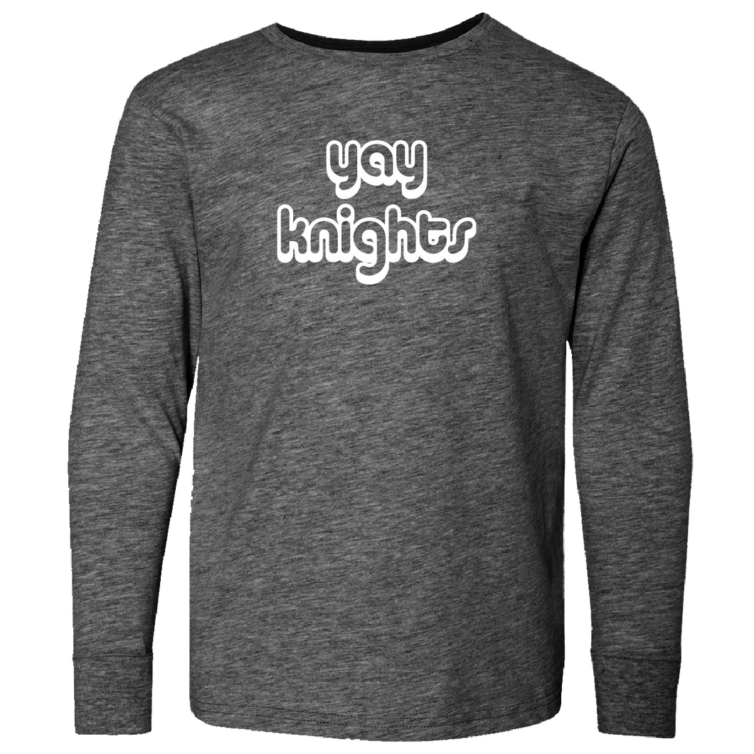 Yay Knights Long Sleeve T-Shirt
