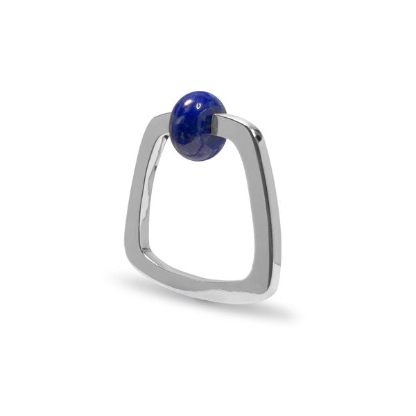 Lapis Etique Ring in Silver