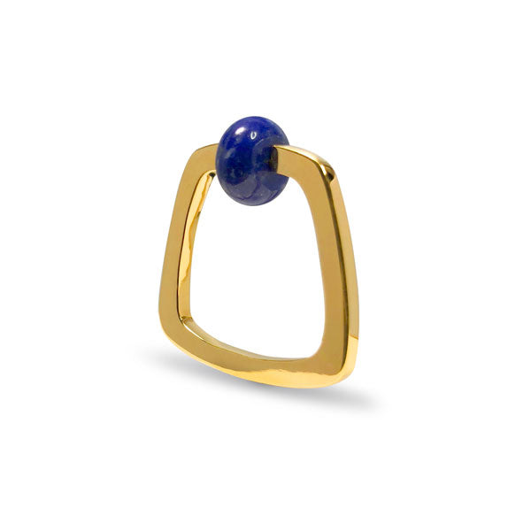 Lapis Etique Ring in Gold