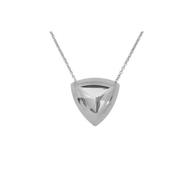 Reuleaux Necklace in Silver