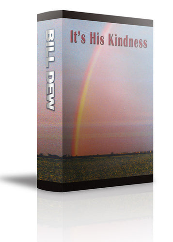 It's His Kindness - CD