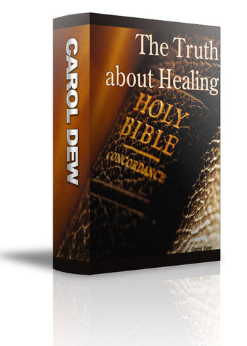 The Truth About Healing - CD