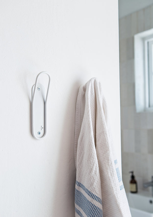 Single Rack Bathroom Towel Hook - Pedersen + Lennard