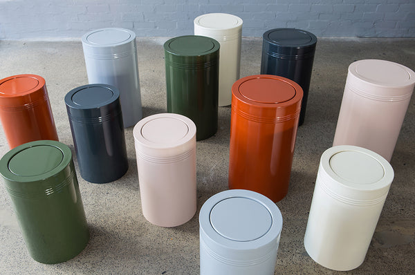 Steel Recycle Bins - Pedersen + Lennard