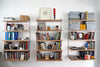 Upside Down Wooden Book Shelves - Pedersen + Lennard