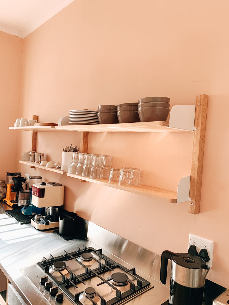 Wooden Shelves - Pedersen + Lennard