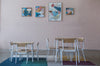 Kids KPA Wooden Desk - Kids KPA Wooden Chairs - Pedersen + Lennard