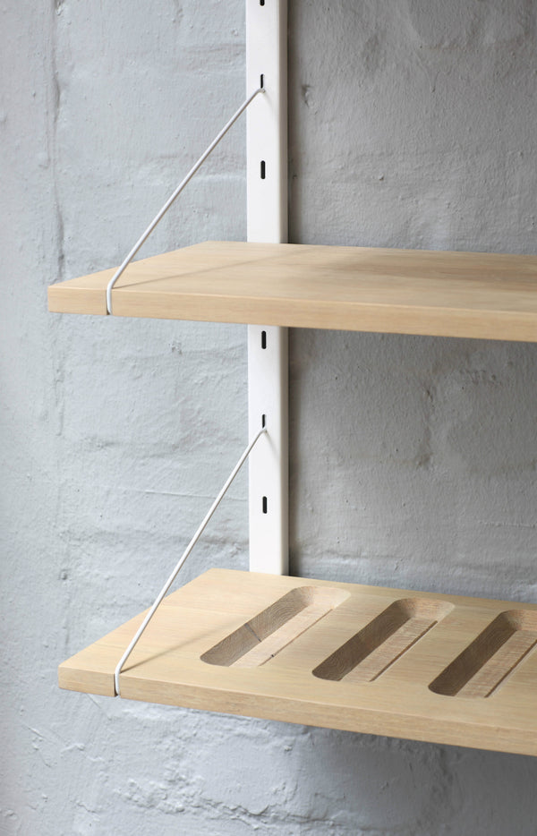 Deluxe Wooden Wall Shelves - Pedersen + Lennard