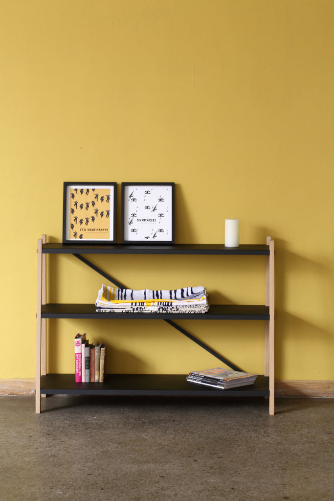 Three Book Shelf - Pedersen + Lennard