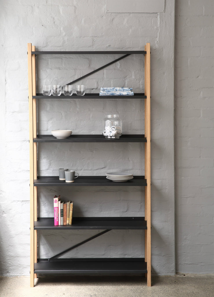 Jozi Wooden Shelf - Pedersen + Lennard