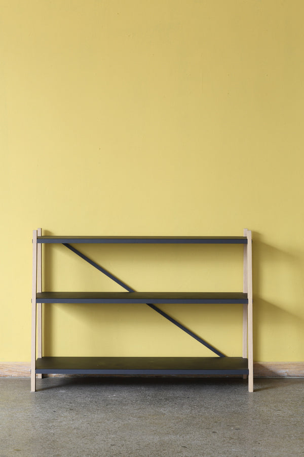 Wooden Book Shelf - Pedersen + Lennard