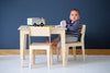 Kids Wooden Table Set - Pedersen + Lennard