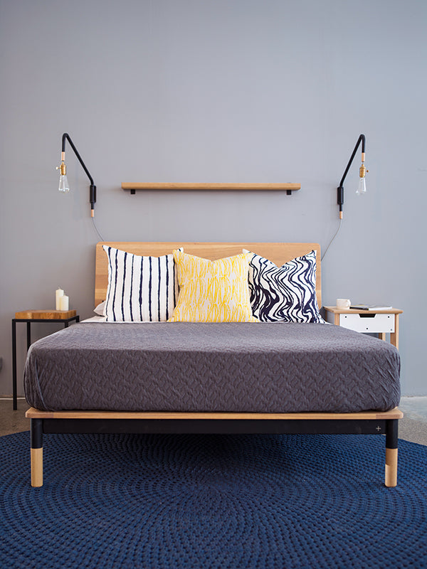 Firenze Wooden Bed - Pedersen + Lennard