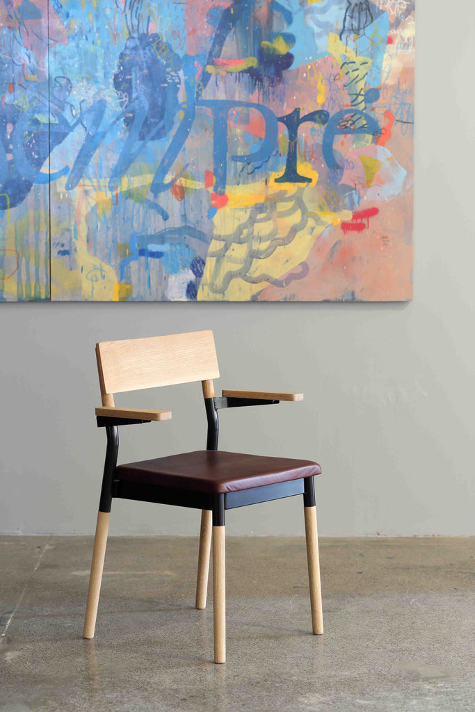 Firenze Boardroom Wooden Chair - Pedersen + Lennard