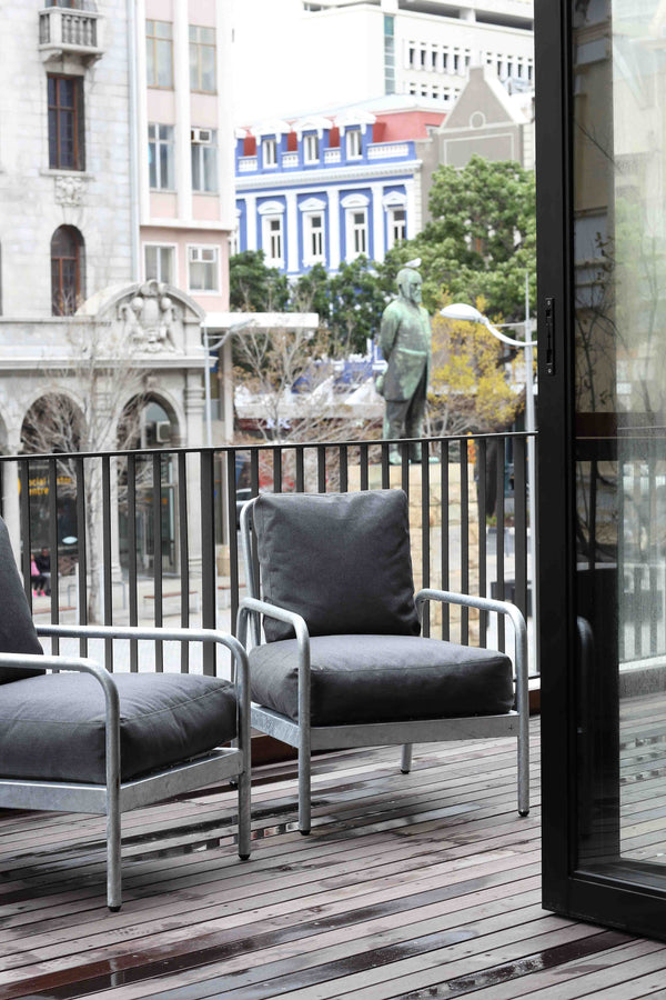 KPA Outdoor Fabric Armchair - Pedersen + Lennard