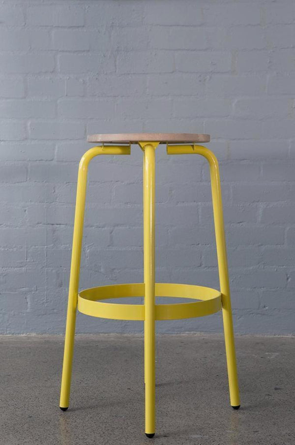 KPA Wooden Bar Stool - Pedersen + Lennard