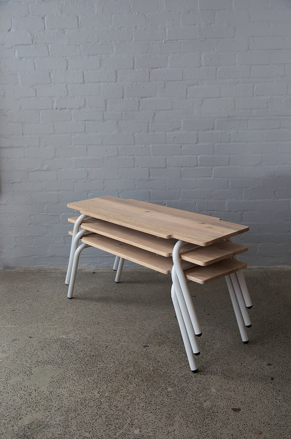 ARC Stacking Wooden Bench - Pedersen + Lennard