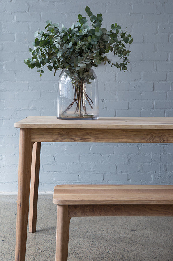 Escarpment Table - Escarpment Wooden Bench - Pedersen + Lennard
