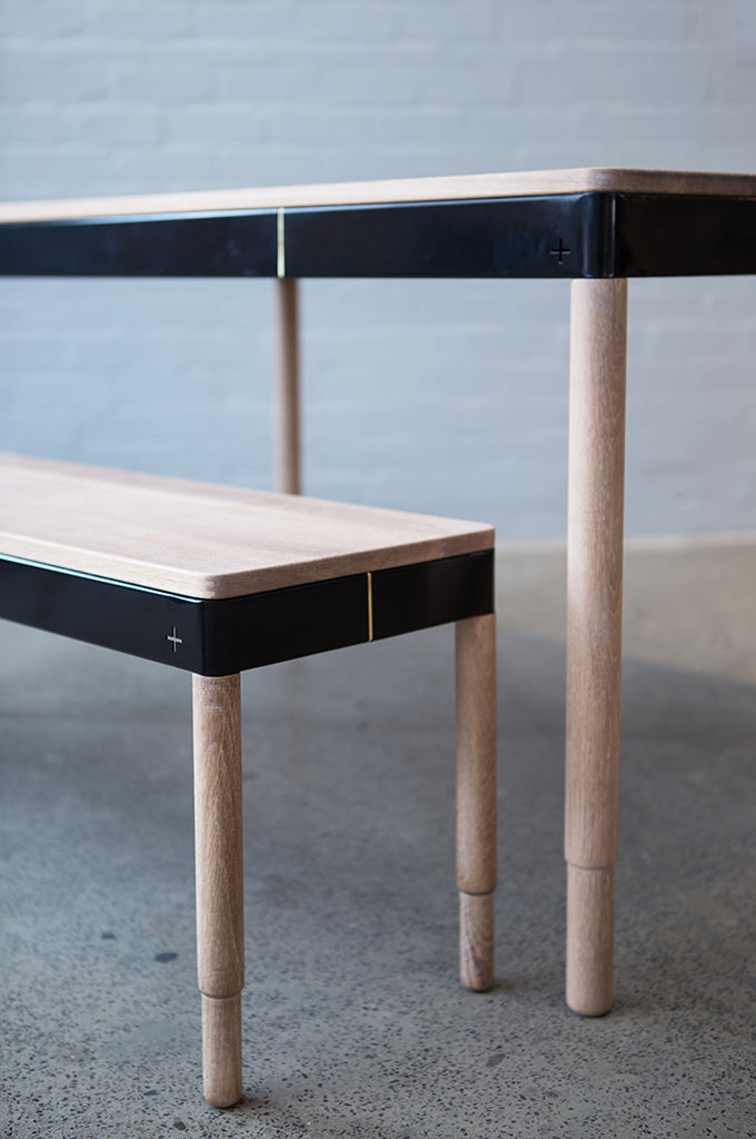 Military Wooden Bench - Military Wooden Table - Pedersen + Lennard