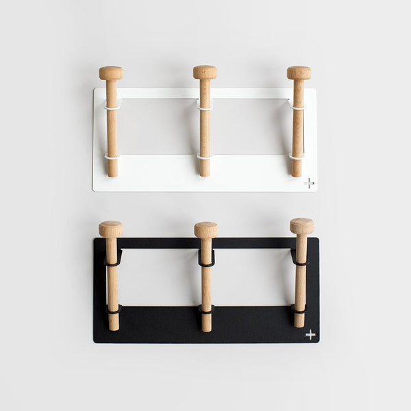Three Wall Hook - Pedersen + Lennard