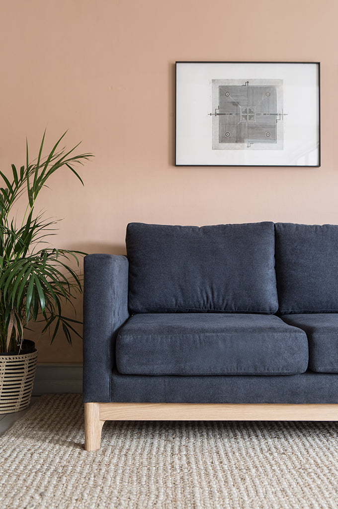 Escarpment Fabric Couch - Perdesen + Lennard
