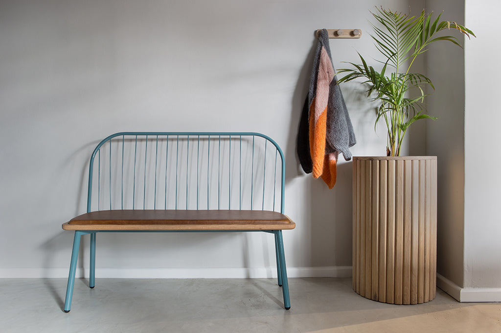 Wooden Fluted Bench - Pedersen + Lennard